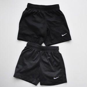 2 Pack Nike Toddler Boys Mesh Shorts